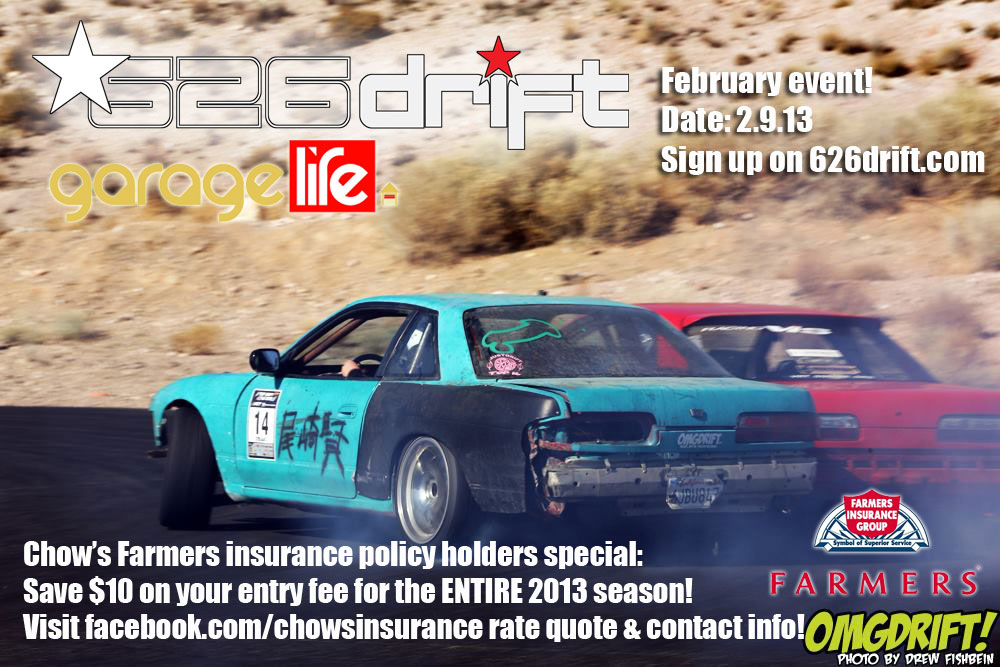 626drift february event